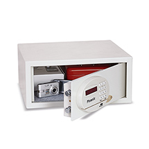 Möbeltresor mit Kreditkartenschloss. Höhe 25 bis 56 cm