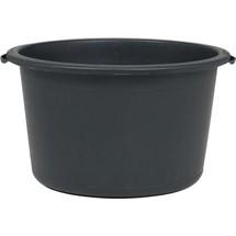 Mörtelkübel, 40 Liter, ohne Bügel, schwarz