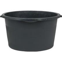 Mörtelkübel, 65/90 Liter, schwarz