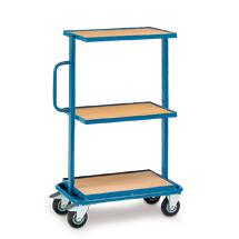 Montagehilfswagen fetra® mit 3 festen Holzböden