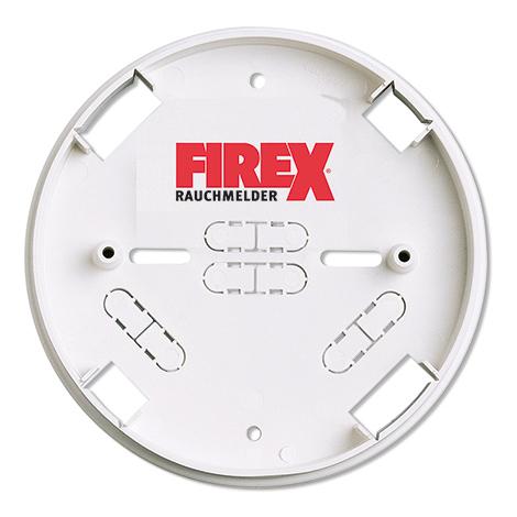 Montagesockel Firex für Rauchmelder mit Netzbetrieb 230 V