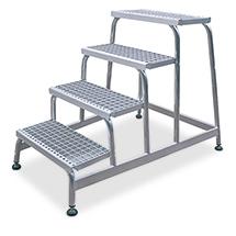 Montagetritt KRAUSE ® mit Gitterrost-Stufen