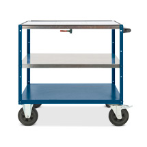 Montagewagen BASIC mit Auffangwanne und Ablasshahn