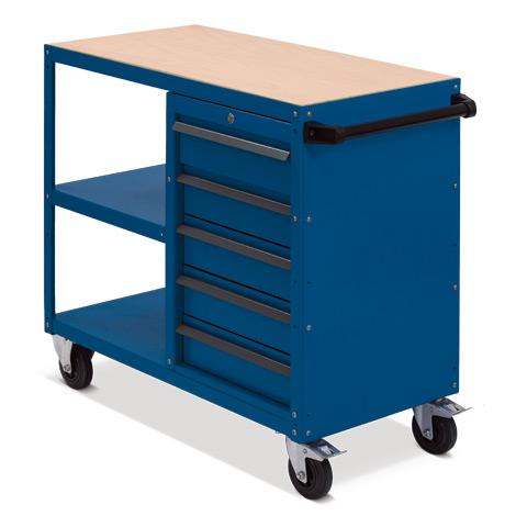 Montagewagen BASIC mit Schubladenblock Tragkraft 500 kg