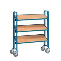 Montagewagen fetra® mit Bodenplatten