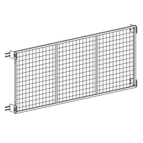 Monteringssats för bakre väggaller META MULTIPAL