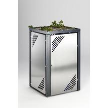 Müllbehälterschrank VAR® mit Pflanzdeckel