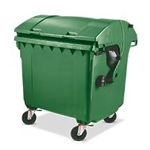 Müllgroßbehälter, 1100 Liter, diverse Farben