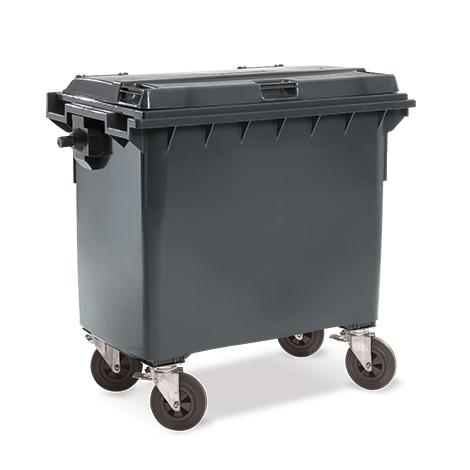 Müllgroßbehälter, 660 Liter, diverse Farben