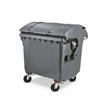 Müllgroßbehälter aus Niederdruck-PE