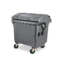 Müllgrossbehälter aus Niederdruck-PE