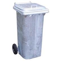 Mülltonne aus feuerverzinktem Stahlblech