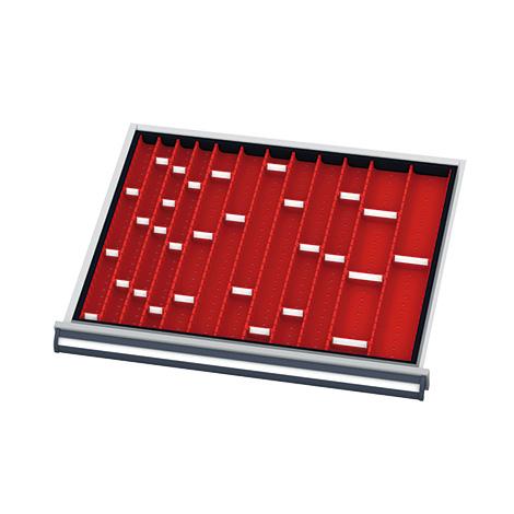 Mulden für Schubladen BxTmm: 700x575, Blendenhöhe 50 mm