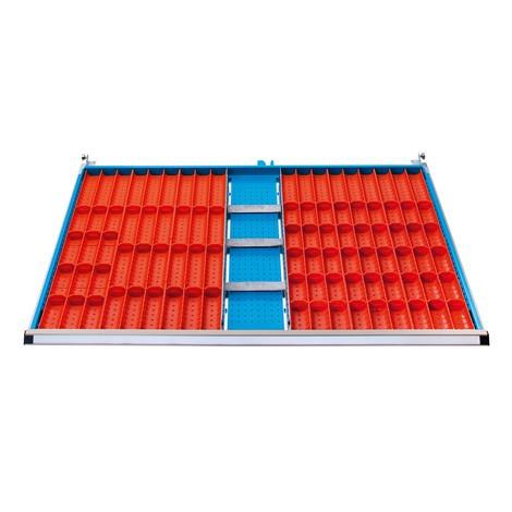 Mulden + Trenn- und Steckwände für Schubladenschränke