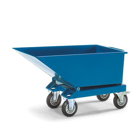 Muldenkipper fetra® mit / ohne Rollen, Volumen bis 0,45 m³
