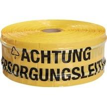 MULTICOLL Trassenwarnband, Breite 150 mm Länge 250 m gelb