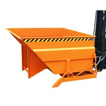 Naklápěcí nádrž, velkoobjemová konstrukce, lakovaná, objem 2 m³