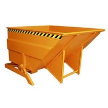 Naklápěcí nádrž, velkoobjemová konstrukce, lakovaná, objem 3 m³