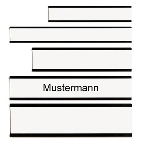Namensschilder für Personal- und Urlaubsplaner