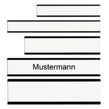 Namensschilder für Personal- und Urlaubsplaner FRANKEN