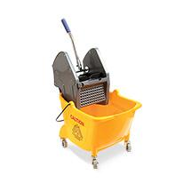 Nasswischwagen BASIC, Einfachfahreimer 24 Liter mit Kunststoffgestell