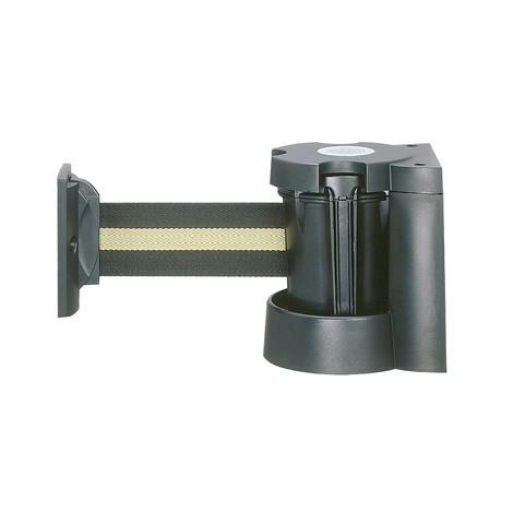 Nástenný klip pre systémy pásových zábran a pásové vodiace systémy