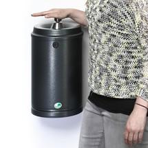 Nástěnný popelník VAR®, ocelový plech