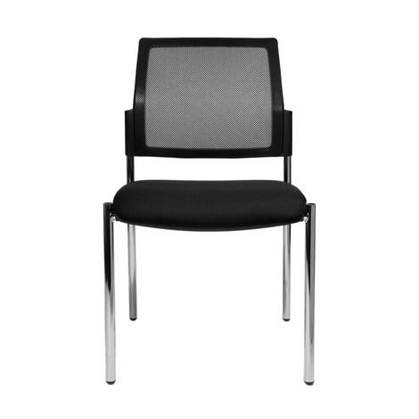 Návštevnícka stolička Topstar® BtoB 10 so sieťovou operadlom