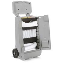 Navulset voor noodpakket in transportwagen