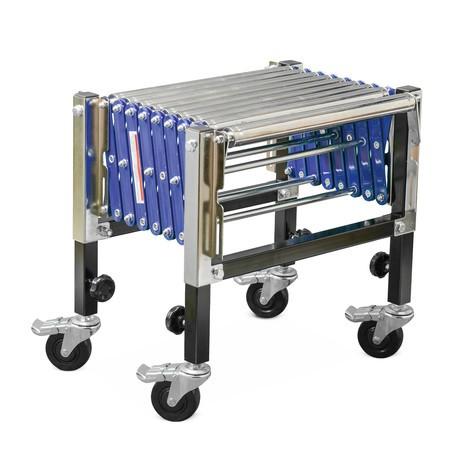 Nožnicový valčekový dopravník Ameise®, nosnosť 180 kg