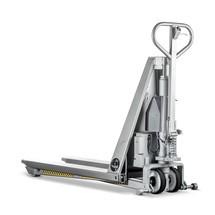 Nůžkový paletový vozík k z nerezové oceli INOX - elektrohydraulický