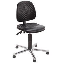 Obrotowe krzesło robocze Chrom