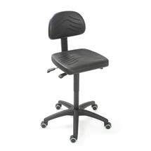Obrotowe krzesło robocze Easy poliuretanowe