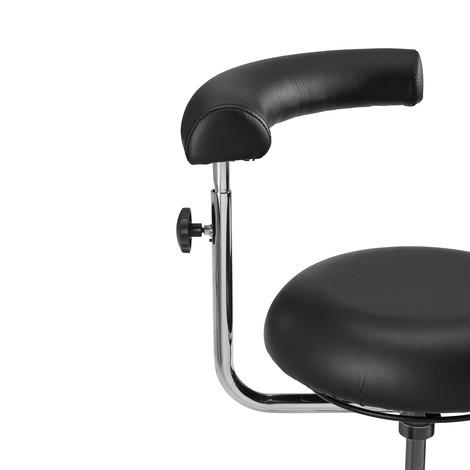 Obrotowe krzesło robocze taboret Comfort, siedzisko okrągłe