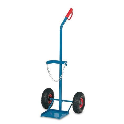 Ocelový vozík na láhev fetra®, pro 1 ocel láhev