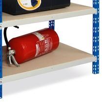 odkládací police na dělicí přepážka, zasouvací systém, zatížení dělicí přepážka 300 kg