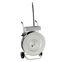 Odvíjecí vozík na vázací pásku PET a PP
