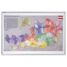 Österreichkarte FRANKEN, Postleitzahlen