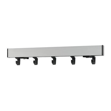 Office Plus wall coat rail bar