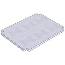 Onderlegplaat voor tafelwagens