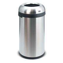 Open afvalbak van roestvrij staal. H x Ø 760 x 400mm