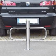 Opklapbare parkeerbeugel van roestvrij staal