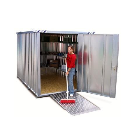 Oprijhelling voor SC- en SGL-containers