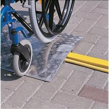 Oprijplaat voor rolstoelen, fietsen, karren. Capaciteit 300kg