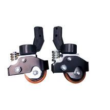 Optie - zijsteunwielen voor elektrische palletwagen Ameise® PTE 1.1 + PTE 1.5 – lithium-ion
