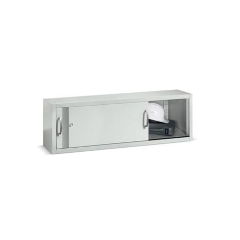 Opzetkast voor werkplaatsschuifdeurkast C+P, hxbxd 500 x 1.600 x 500 mm