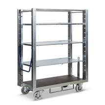Orderpickwagen voor eurobakken, capaciteit 600 kg