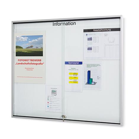 Organisations-Spezialtafel mit Glasschiebetüren