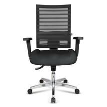 Otočná kancelárska stolička Topstar® P91-NET