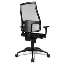 Otočná kancelárska stolička Topstar® Syncro so sieťovým operadlom